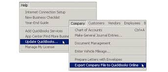 Quickbooks Online Export Chart Of Accounts Setting Up Your Quickbooks Online Company Part One