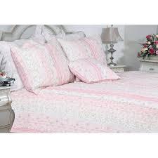 cozy line home fashion romantic chic lace quilt collection reviews wayfair