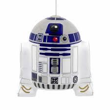 Hallmark <b>Star Wars</b> R2-D2 Decoupage Christmas Ornament