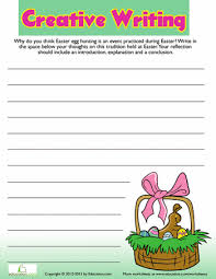 Easter Creative Writing    Education com s