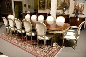 dining table seat 12 dining table seats room pertaining to large round decor what size round
