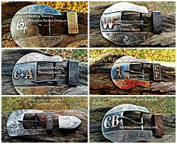 Some of the <b>buckle shapes</b> and metal choices available for your ...