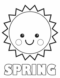 29 Springtime Coloring Sheets This Week In Kids Club Spring
