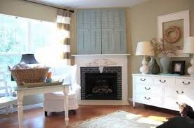 brick surround corner fireplace design