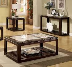 coffee table marble end table set small table desk marble shades of brown and black