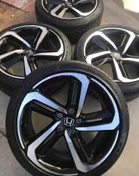2018 honda accord sport black rims. Mounting 2018 Accord Sport 19 Wheels On Civic 2016 Honda Civic Forum 10th Gen Type R Forum Si Forum Civicx Com
