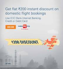 Discount coupon for make my trip domestic flights