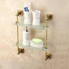 glass shelf for bathroom glass shelf bathroom home depot