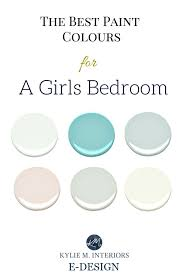 The Best Benjamin Moore Paint Colours And Accent Palettes For Girls Bedroom Nursery Or Tween