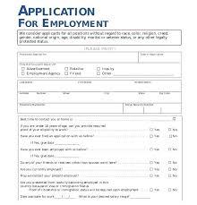 Employee Application Form Free Printable Employee Application Form Template Job 8 Blank Forms Printable Free