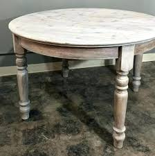 washed wood dining table whitewashed reclaimed wood dining table antique country french round or centre half