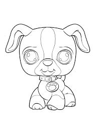 Kleurplaat Tv Series Kleurplaat Littelest Pet Shop Animaatjesnl