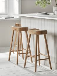 new weathered oak counter stool