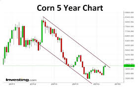 5 Year Corn Price Chart Corn Price Spike Is Prone To Profit Taking