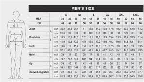 Frc Coverall Size Chart Bulwark Frc Mens Sizing Chart Coveralls And Overalls