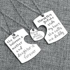 i love you mom and dad as well as gift family groups jewelry father and mother i love u charm pendant necklace set love mom dad sps