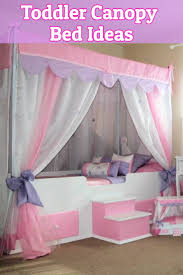 Baby Crib Canopy Ideas, Canopy Toddler Bed Ideas Adorable Canopy ...