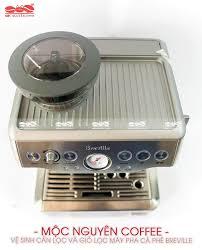 Cách vệ sinh máy pha cà phê Breville 870 XL |