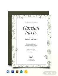 Graduation Templates Word Party Invitation Templates Garden Template 50th Birthday