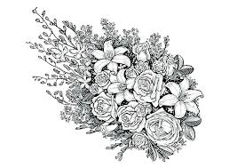 Rose Coloring Pages Free Nip Laceaorg