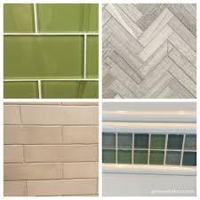 Green Tile Backsplash Kitchen Green With Decor Picking Tile For The Kitchen Backsplash