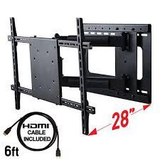 mounts full motion tv wall mount