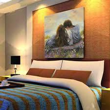 Modern Art Bedroom Oil Painting Oil Paintings For Sale Online Canvas Art Supplier