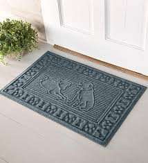 waterhog doormats in dog design
