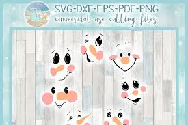 Free svg image & icon. Free Svgs Download Snowman Face Bundle Svg Dxf Eps Png Pdf Files For Cricut Free Design Resources