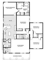Small Picture 4 Bedroom Simple House Plans Shoisecom
