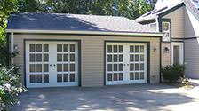 french glass garage doors. *Choose Over 90 Custom Colors And Give Your Glass Garage Door Added Character With Smooth Aluminum, Embossed Steel, Or Steel Wood Grain French Doors