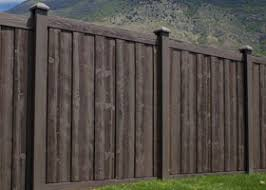 brown vinyl fence. Walnut Brown Ashland Privacy Fence Panels Vinyl