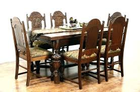 oak dining set used oak dining chairs used oak table and chairs for sold antique oak dining set