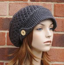 Free Crochet Hat Patterns For Women Stunning New Crochet Patterns For Women's Hats Newsboy Free Crochet Hat