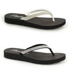 skechers yoga foam sandals. image is loading skechers-meditation-ladies-yoga-foam-diamante-flexible-toe- skechers yoga foam sandals