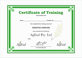 Training Templates For Word Free Training Certificate Templates For Word Brochure