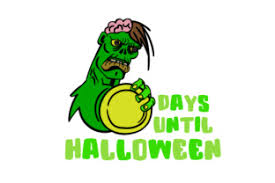 Available in png and vector. Days Until Halloween Zombie Svg Cut Files Pin By Etsy On Products Cutting Files Flower Svg Filing Pinterest