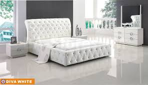 Modern Mirrors For Bedroom Amazing Ibiza Modern Bedroom Set Bed Dresser Mirror And 2