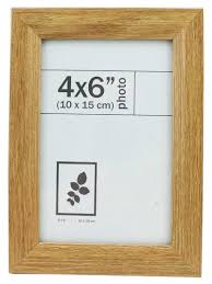 wood picture frame 4 x 6 natural wood looking texture default