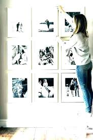 photo frame set with decorative wall stickers white frames deluxe gallery picture sets exciting han
