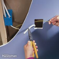 how to install electrical outlets in the kitchen the family handyman add an electrical outlet