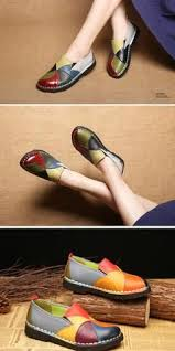 Trendy <b>Women Casual</b> Platform,Handmade Leather Soft Shoes ...