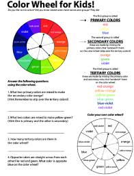 They are made by mixing adjacent primary and secondary colors. Primary And Secondary Colors Color Rainbow Lesson Plan Education Com Lesson Plan Education Com