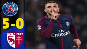PSG vs Metz 5 - 0 Highlights 10.03.2018 HD - video Dailymotion