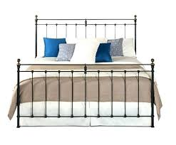 wrought iron king bed. Wrought Iron King Size Bed Front View . R
