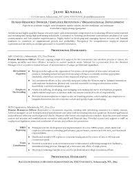 Example Human Resources Officer Resume Free Sample Kvzrftjh ..