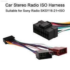 sony wiring harness car stereo 16 pin wire connector $2 39 picclick Sony Wiring Harness Colors for sony radio iso wire harness sksy16 21 iso 16pin harness connector plug wire