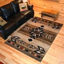 cabin area rugs best rustic ideas on farmhouse decor lodge style for