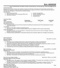 Business Analyst Resume Inspiration Business Analyst Resume Example Bank Of America La Center