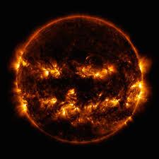 Jack O Lantern Nasa Sdo Image Jack O Lantern Sun Nasa